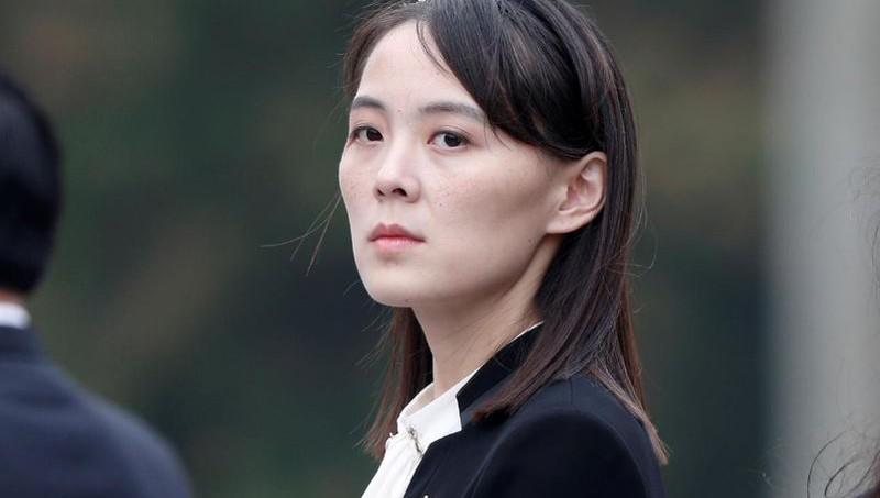 Em gái Chủ tịch Kim Jong-un đến Khu phi quân sự liên Triều chia buồn với Hàn Quốc