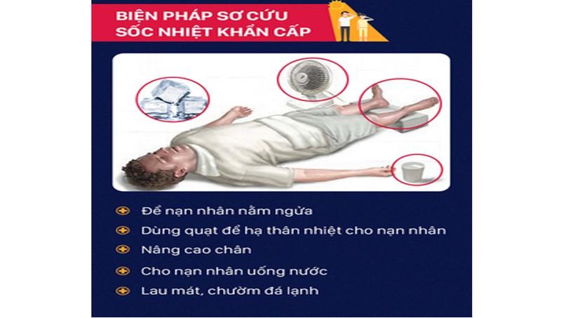Từ một người chết nghi do nắng nóng ở Hà Nội: Sơ cứu sốc nhiệt thế nào mới đúng?