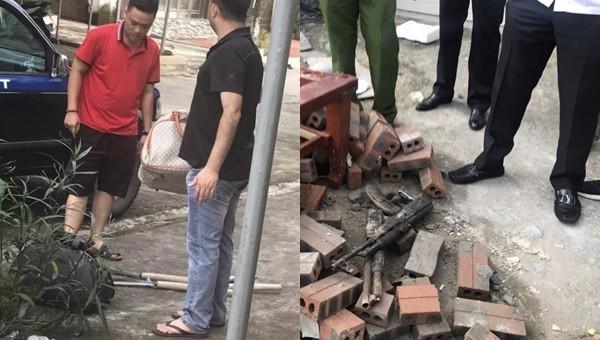 Truy bắt 2 nhóm vác dao, súng 'thanh toán' nhau trên phố giữa ban ngày