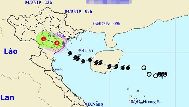 Bão số 2 suy yếu thành áp thấp nhiệt đới, nguy cơ cao lũ quét lở đất ở vùng núi