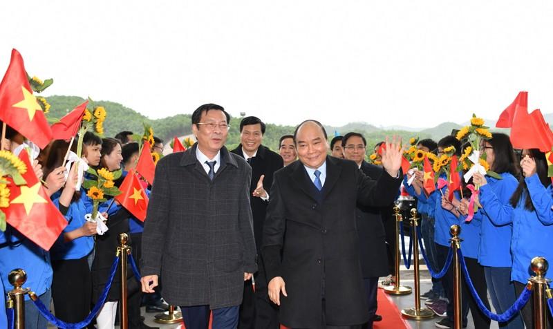 Vị khách đặc biệt đầu tiên của sân bay Vân Đồn