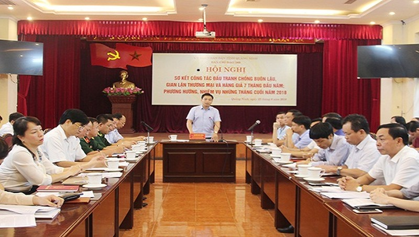 Quảng Ninh yêu cầu xử lý nghiêm những cán bộ có dấu hiệu tiếp tay cho buôn lậu