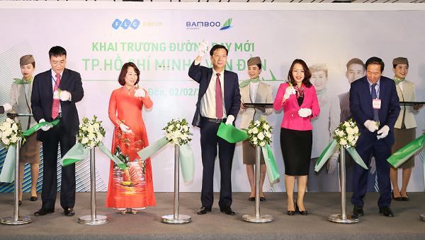 Bamboo Airways khai trương đường bay TP Hồ Chí Minh – Vân Đồn