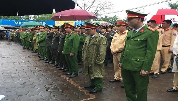 Hơn 2.000 công an, bảo vệ... đảm bảo an toàn Lễ Khai ấn Đền Trần