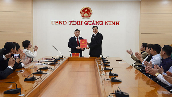 Phó ban Nội chính được bổ nhiệm Giám đốc Sở Tư pháp Quảng Ninh