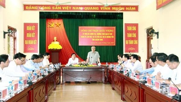 Quảng Ninh không được 'ngủ quên' trên những thành tựu