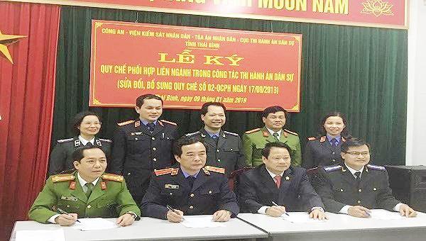 Cục thi hành án dân sự tỉnh Thái Bình nhiều khởi sắc