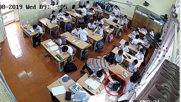 Nữ giáo viên đánh học sinh tại Hải Phòng bị buộc thôi việc