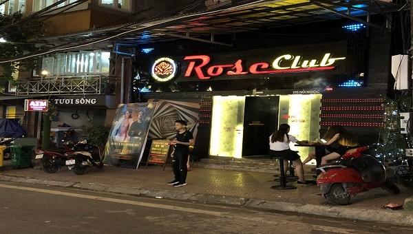 """Hải Phòng:  """"Sốc"""" với """"quảng cáo"""" của Rose Club về """"combo rượu ngon, gái đẹp, bóng cười phê ngất người"""""""