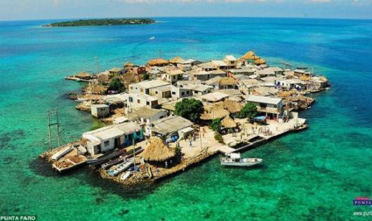 Khám phá hòn đảo 'chật chội' nhất thế giới