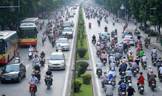 Điều chỉnh tổ chức giao thông trên tuyến Xuân Thủy - Cầu Giấy