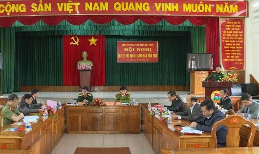 Lâm Đồng: Khối các cơ quan nội chính thi đua hoàn thành xuất sắc nhiệm vụ được giao