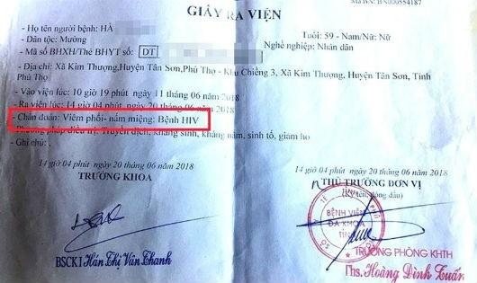 Vài tháng nghiên cứu mới có thể khẳng định nguyên nhân lây nhiễm HIV tại Phú Thọ?