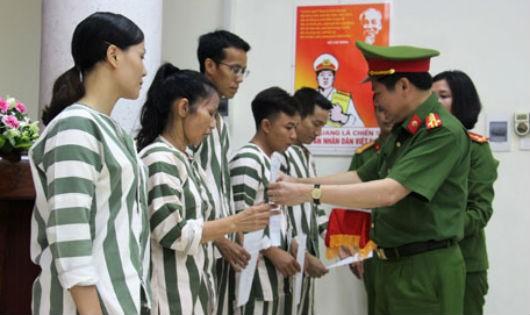 Các địa phương thực hiện tha tù trước thời hạn có điều kiện