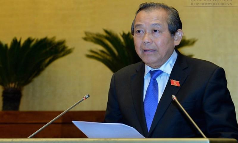 Phó Thủ tướng Thường trực yêu cầu khẩn trương xử lý các văn bản trái pháp luật