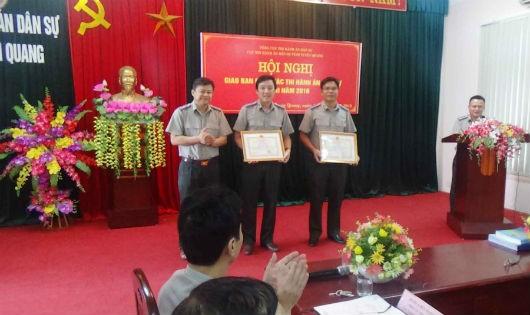 Tuyên Quang đôn đốc tiến độ giải quyết việc thi hành án