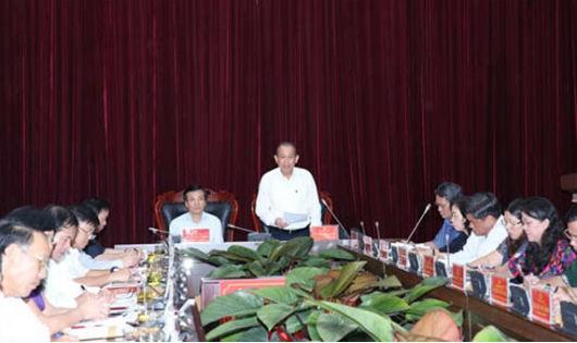 Phó Thủ tướng Thường trực Trương Hoà Bình làm việc tại tỉnh Điện Biên về tình hình di dân: Cần làm tốt quy hoạch, kế hoạch sử dụng đất gắn với thế mạnh du lịch