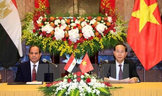 Chủ tịch nước và Phu nhân kết thúc tốt đẹp chuyến thăm Ethiopia và Ai Cập
