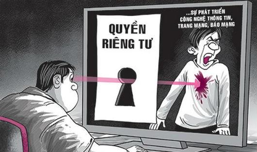 Đừng xâm phạm quyền riêng tư của hoa hậu!