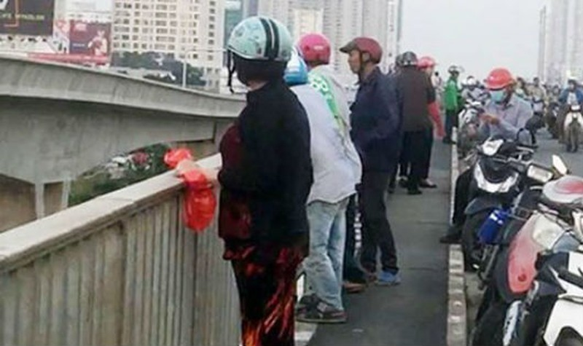 Giận bạn trai, cô gái dựng hiện trường giả nhảy cầu Sài Gòn?