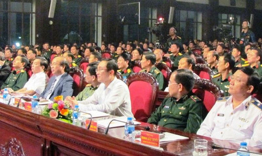Bộ Quốc phòng giao lưu 'Sáng mãi tinh thần thượng tôn pháp luật'
