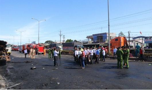 Vụ cháy xe bồn chở xăng gây hỏa hoạn khiến 6 người chết: Vụ án hình sự đặc biệt nghiêm trọng
