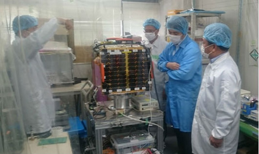 Chuẩn bị phóng tên lửa mang vệ tinh do người Việt thiết kế lên vũ trụ