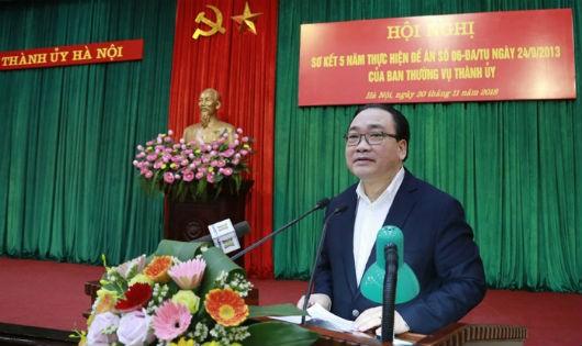 Hà Nội: Thí điểm Bí thư cấp ủy là Chủ tịch UBND cùng cấp