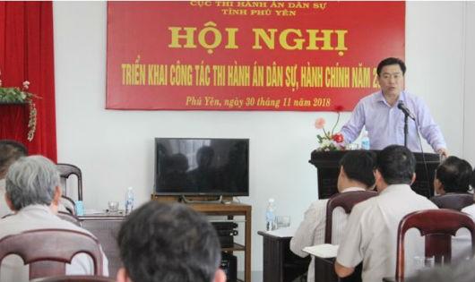 Phú Yên triển khai công tác thi hành án dân sự năm 2019