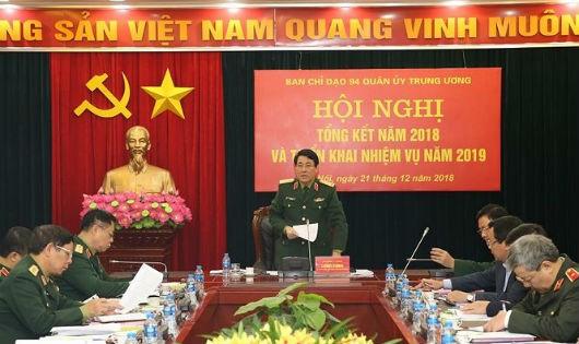 Ban Chỉ đạo 94 Quân ủy Trung ương triển khai nhiệm vụ năm 2019