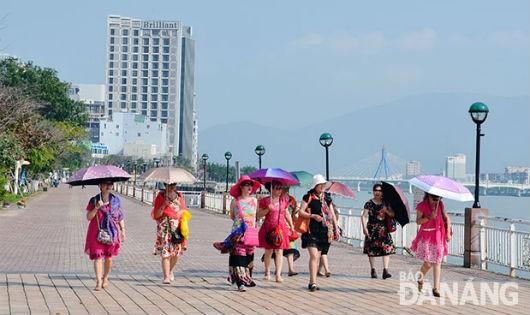 Đà Nẵng: Khách du lịch tăng cao dịp Noel và Tết Dương lịch