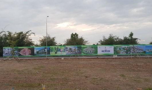 Long An: Rao bán đất dự án khi chưa có phép