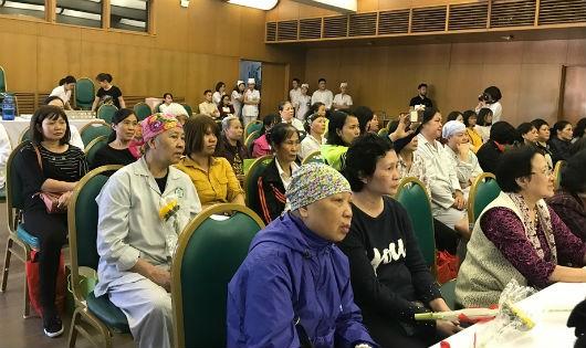 Bệnh viện Bạch Mai thành lập câu lạc bộ bệnh nhân ung thư vú
