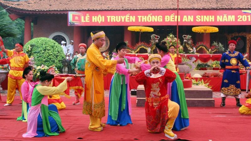 Chuyện ít biết về Đền An Sinh thờ các vị Hoàng đế nhà Trần
