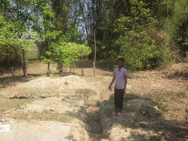Nhà Y Nơ Ông và các vết tích đào bới