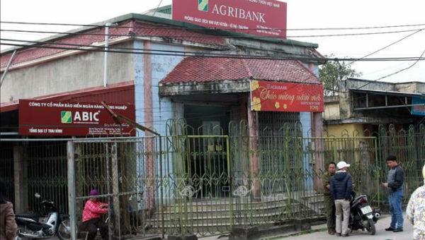 Bắt nghi phạm cướp ngân hàng ở Thái Bình