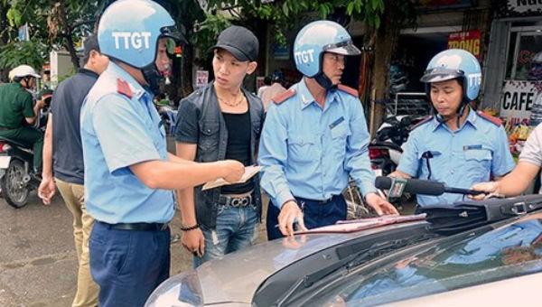 Hà Nội: Tăng cường kiểm tra, xử lý vi phạm  trật tự, an toàn giao thông