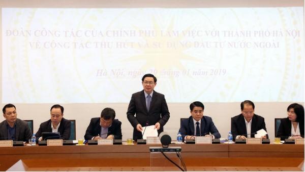 Hà Nội đứng đầu cả nước về thu hút vốn đầu tư nước ngoài