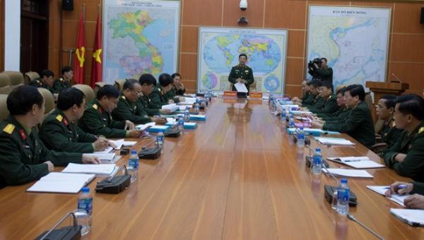 Nâng ngạch, bãi miễn chức danh hơn 1.300 sĩ quan quân đội
