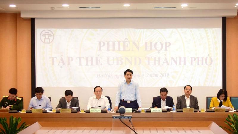 Xem xét đầu tư, xây dựng 3 huyện Hà Nội thành quận vào 2020