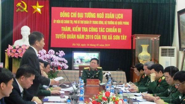Lãnh đạo Bộ Quốc phòng giải đáp các quy định về nhập ngũ
