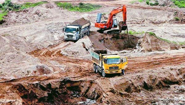 Hà Nội: 24 cơ sở khai thác khoáng sản đã ký quỹ bảo vệ môi trường