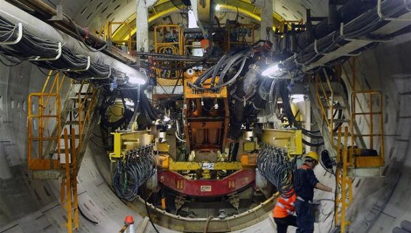 Sẽ dùng robot đào hầm dự án metro Nhổn - ga Hà Nội vào cuối năm 2019