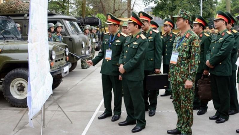 Kiểm tra các đơn vị quân đội tham gia bảo vệ Hội nghị Thượng đỉnh Hoa Kỳ - Triều Tiên