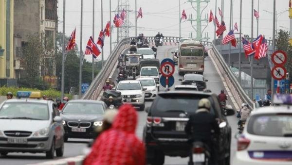 Hà Nội cấm hàng loạt tuyến phố dịp Thượng đỉnh Mỹ - Triều