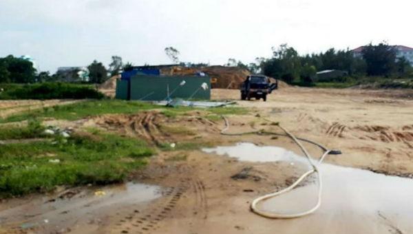 Đà Nẵng chỉ đạo xử lý, bãi tập kết cát trái phép vẫn 'nhờn luật'