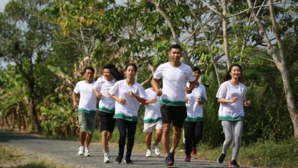 Chạy bộ lan tỏa thông điệp chống biến đổi khí hậu