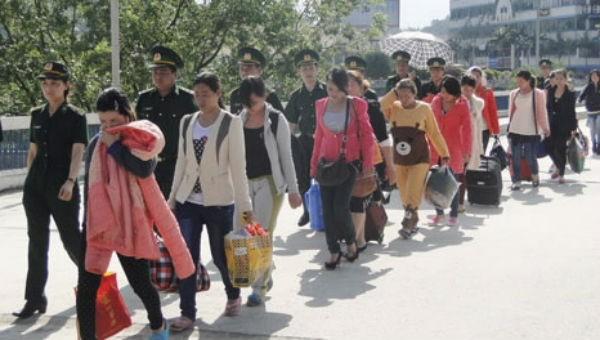 Nhiều đường dây mua bán người trung chuyển qua Việt Nam