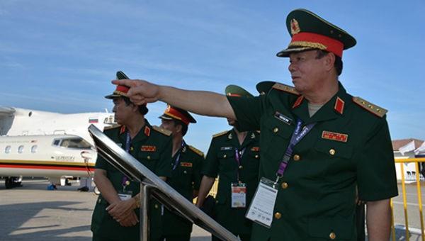 Đoàn đại biểu Bộ Quốc phòng Việt Nam dự Triển lãm LIMA 2019
