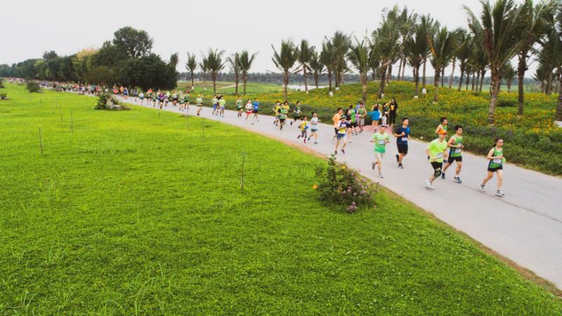 Ecopark Marathon – Ngày hội gia đình ý nghĩa dịp nghỉ lễ